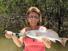 Marco Island Charter Fishing Trip Pictures of Redfish