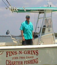 Marco island fishing rates fins n grins for Charter fishing marco island