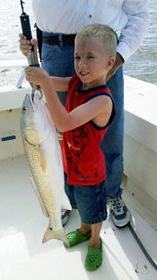 Marco Island charter fishing is for all people of all ages